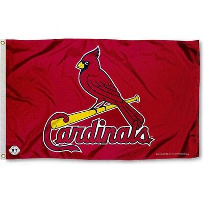 St. Louis Cardinals Flag 3'X5' Mlb Banner: Fast Free Shipping