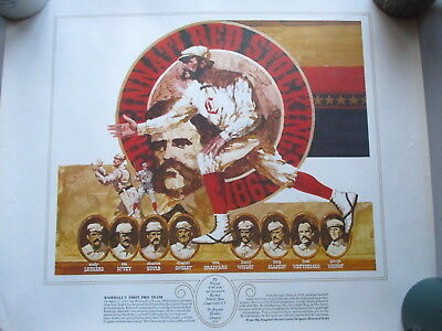 ALL SEVEN Seagram's Seven Crowns of Sports PRINTS Set  1970s?