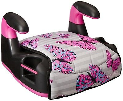 Kids Backless TurboBooster Booster Car Seat Toddler Dunwoody Safety Girls