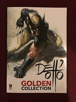 Gabriele Dell'otto Golden Collection 2016 32 Page Color Sketchbook Htf Rare