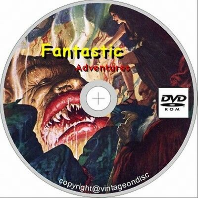 Fantastic Adventures Issues 1-129 on Dvd Rom