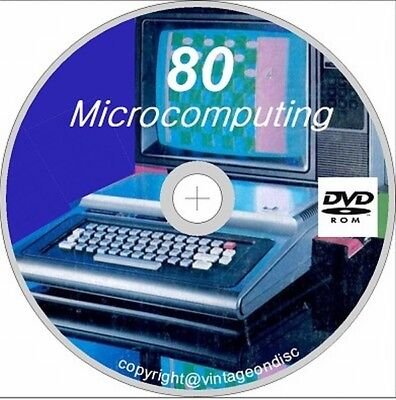 80 Microcomputing 75 Issues in PDF format on 1 DVD Rom