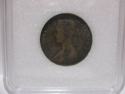 1861 Nova Scotia Canada One Cent XF