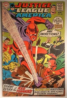 Justice League of America #64 ('68) FN 1st. SA Red Tornado! Multiverse Crossover