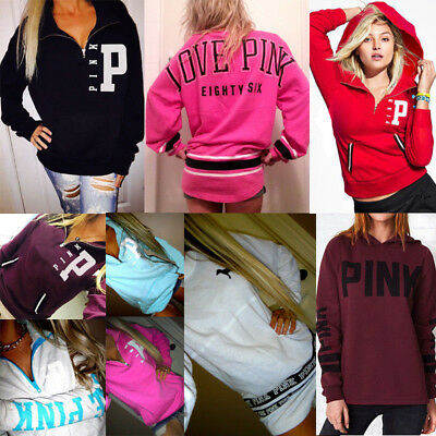 Women Long Sleeve Hoodie Sweatshirt Sweater Casual Hooded Tops Jumper Pullover
