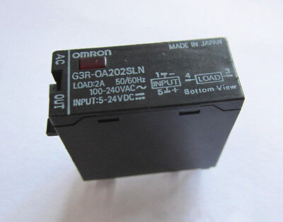 1PCS Used Omron 5-24Vdc G3r-Oa202sln Tested Solid State Relay