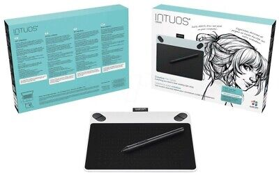 NEW Wacom Intuos Draw Pen White Digital Graphic Tablet CTL-490 PC/MAC/WINDOWS