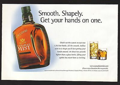 2000 Canadian Mist Whiskey Advertisement