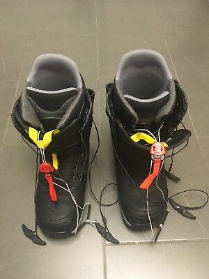 Burton ION Men 2012 Snowboard Boot Schuhe US 11 Euro 44 UK 10  *black/Yellow*