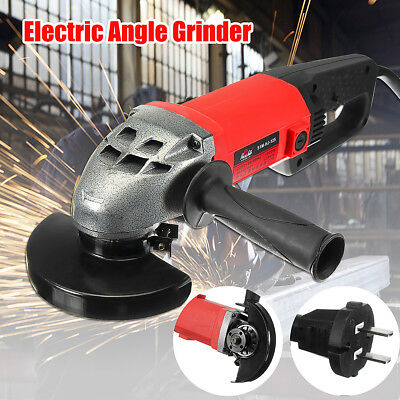 BABAN 1020W Electric Angle Grinder 220V 125mm Metal Grinding Cutting Tool+Wrench