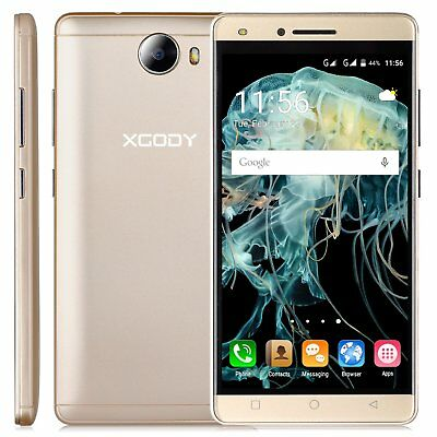 """XGODY 5"""" Android 5.1 Smartphone Débloqué d'usined 3G/2G 4Core 2SIM Mobile Phone"""