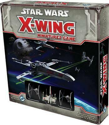 Star Wars X-Wing Miniatures Game Core Set Free Shipping!