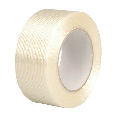 36 Rolls 25mm Wide x 50m Long Very Strong Reinforced Monoweave Adhesive Tape