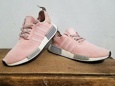 4e6c21732 Adidas NMD R1 BY3059 Womens Vapor Pink Grey Onyx Boost limited WOMAN SIZE 9   S2