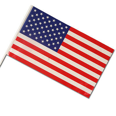 USA American Independence Day 4th July Flag Hand Waving Flags Party Supplies