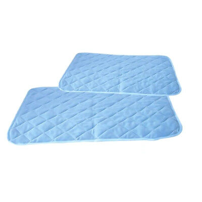Chilly Mat Cooling Pet Dog Cat Bed Indoor Summer Cool Gel Pad Viscose Fiber Mats