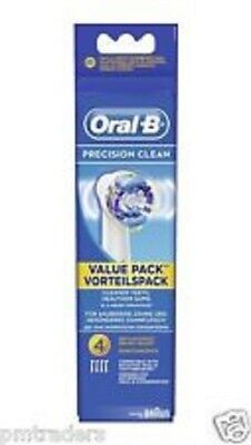 Oral-B Precision Clean Replacement Brush Heads 4 Pack