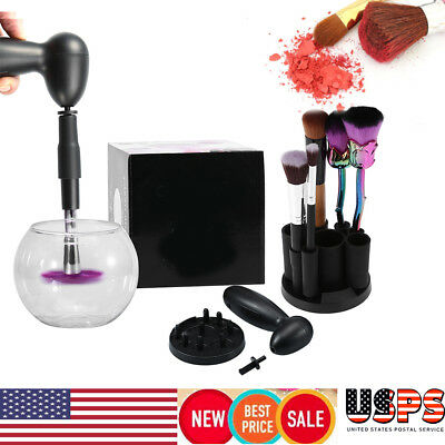 Electric Makeup Cosmetic Brushes Brush Cleaner Drying Washing Machine Tool Set