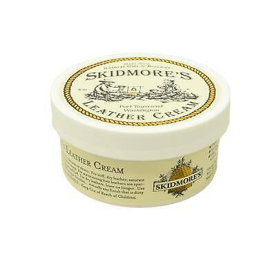 Skidmore's Leather Cream Leather Conditioner and cleaner 6 ounce tub