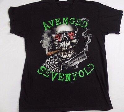 Avenged Sevenfold A7X Bullet Teeth Band Concert Music T-Shirt Unisex