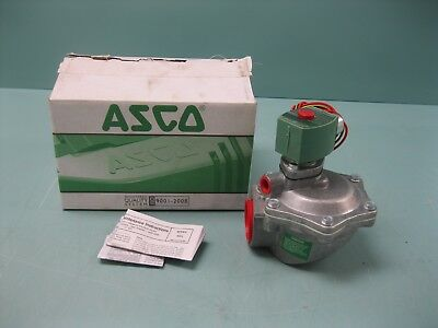 """1-1/2"""" NPT Asco Red-Hat 8353J39 Duct Collector Main Pulse Valve NEW H17 (2254)"""