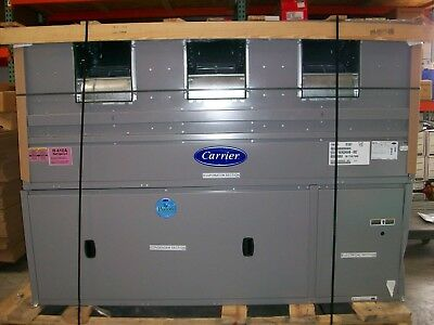 CARRIER 15 TON OMNIZONE INDOOR PACKAGED UNIT - 50XCR16EAQH6AB-0BZ - NEW w/damage