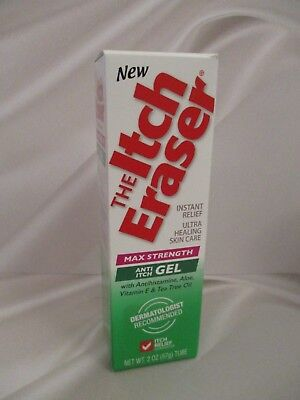 The Itch Eraser Max Strength Anti Itch Gel  *Dermatologist recommended*-  2 oz