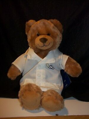 Build A Bear Workshop Brown Bear Plush Stuffed Animal With Doctor Coat Jacket : build a bear tent - memphite.com