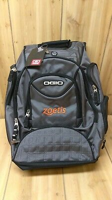 OGIO Metro Street Computer Laptop Backpack, Grey and Black