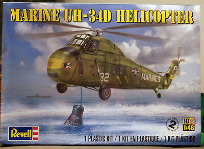 Sikorsky H-34 Marine Helicopter UH-34D Seahorse 1:48 Revell 5323