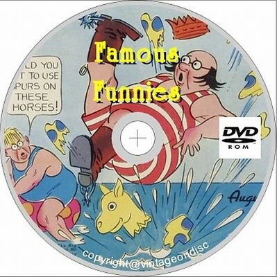 Famous Funnies Comics Issues 1 - 218 On Dvd Rom