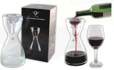 4 Pieces Modern Vineyard Red or White Wine Aerator Pourer Aerating Decanters