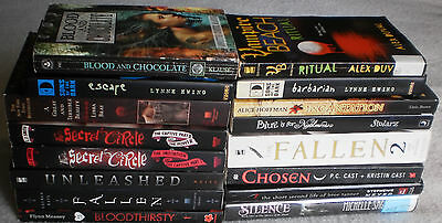 Young Adult YA Vampire Fantasy Lot of 16 Lynne Ewing L.J. Smith Lauren Kate