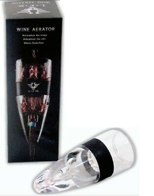 4pcs Modern Vineyard Red or White Wine Aerating Decanter Aerator Pourers