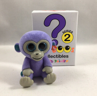 TY Beanie Boos Mini Boo SERIES 2 Collectible Figure - BLUEBERRY Monkey (2  inch) fc4eddbc2200