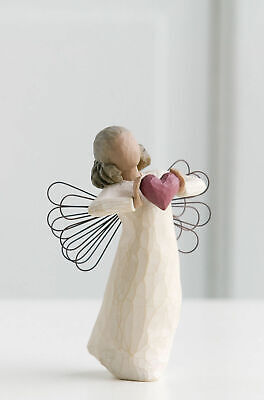Willow Tree Figurine With Love Angel  You are Loved By Susan Lordi   26182