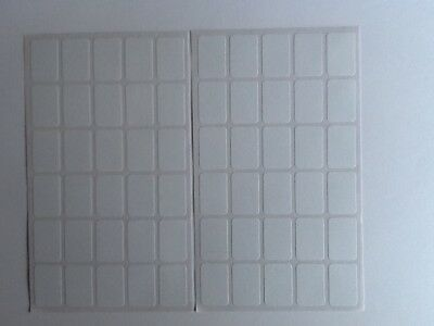 540 Small White Sticky Labels 18 x12mm Price Stickers,Tags,Blank,Self Adhesive