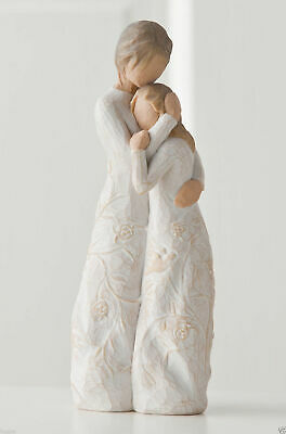 Close to Me Mum & Daughter Willow Tree Figurine By Susan Lordi  26222