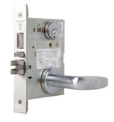 L9453P-07A-626 Schlage L Series Entrance with Deadbolt Commercial Mortise Lock w