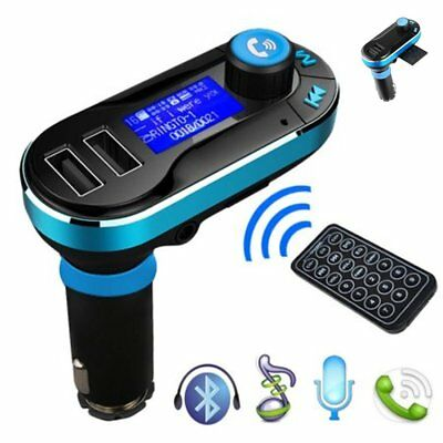 Bluetooth Car Kit MP3 Player FM Transmitter PP USB Charger For iPhone Samsung PP
