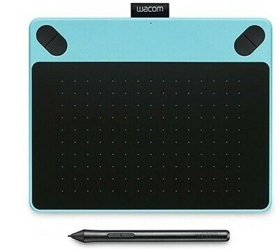 NEW Wacom Intuos Draw Pen Blue Digital Graphic Tablet CTL-490 PC/MAC/WINDOWS