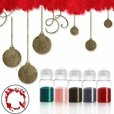 10ml Colorful Embossing DIY Three-dimensional Powder Scrapbook Embellishments HQ