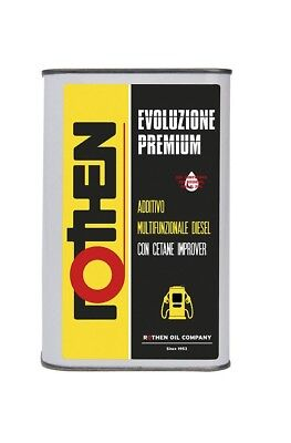 Additivo Premium Power Evolution Iniettori Diesel Max Prestazioni Rothen 1Lit **