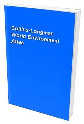 Collins-Longman World Environment Atlas Hardback Book The Cheap Fast Free Post