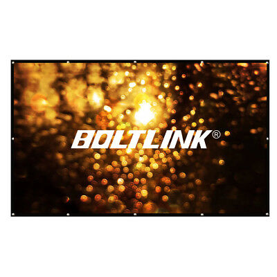"Large Projector Screen 200"" 250"" 300"" (16:9) (4:3)Portable Outdoor Movie Screen"