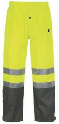 Ropa laboral .Pantalón impermeable.AMARILLO.Talla-4XL NORTHWAYS 9251 Griffis