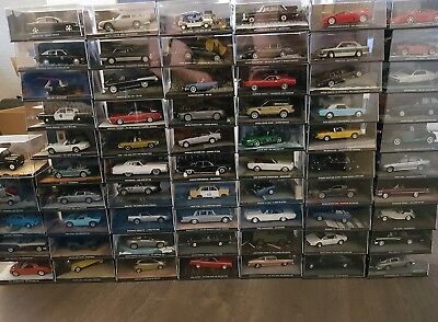 James bond Sammelautocollection 1-63+1Sondermodell