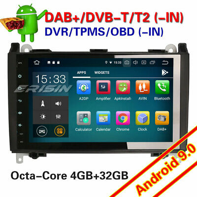 """9"""" Android 8.1 Mercedes A/B Class Sprinter Vito Viano VW Crafter Car Stereo Navi"""