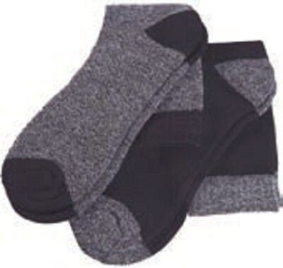 Ropa laboral .Calcetines 2 pares.NEGRO/GRIS Talla-39/42 NORTHWAYS 9686
