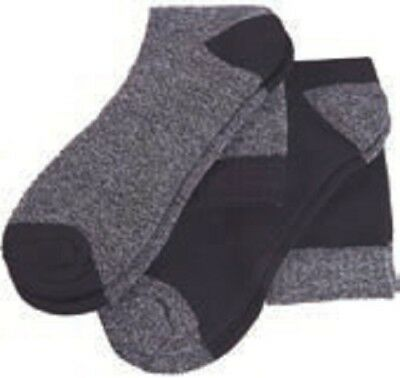 Ropa laboral .Calcetines 2 pares.NEGRO/GRIS Talla-43/46 NORTHWAYS 9686
